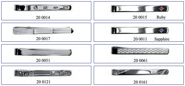 tie bar and tie clip design